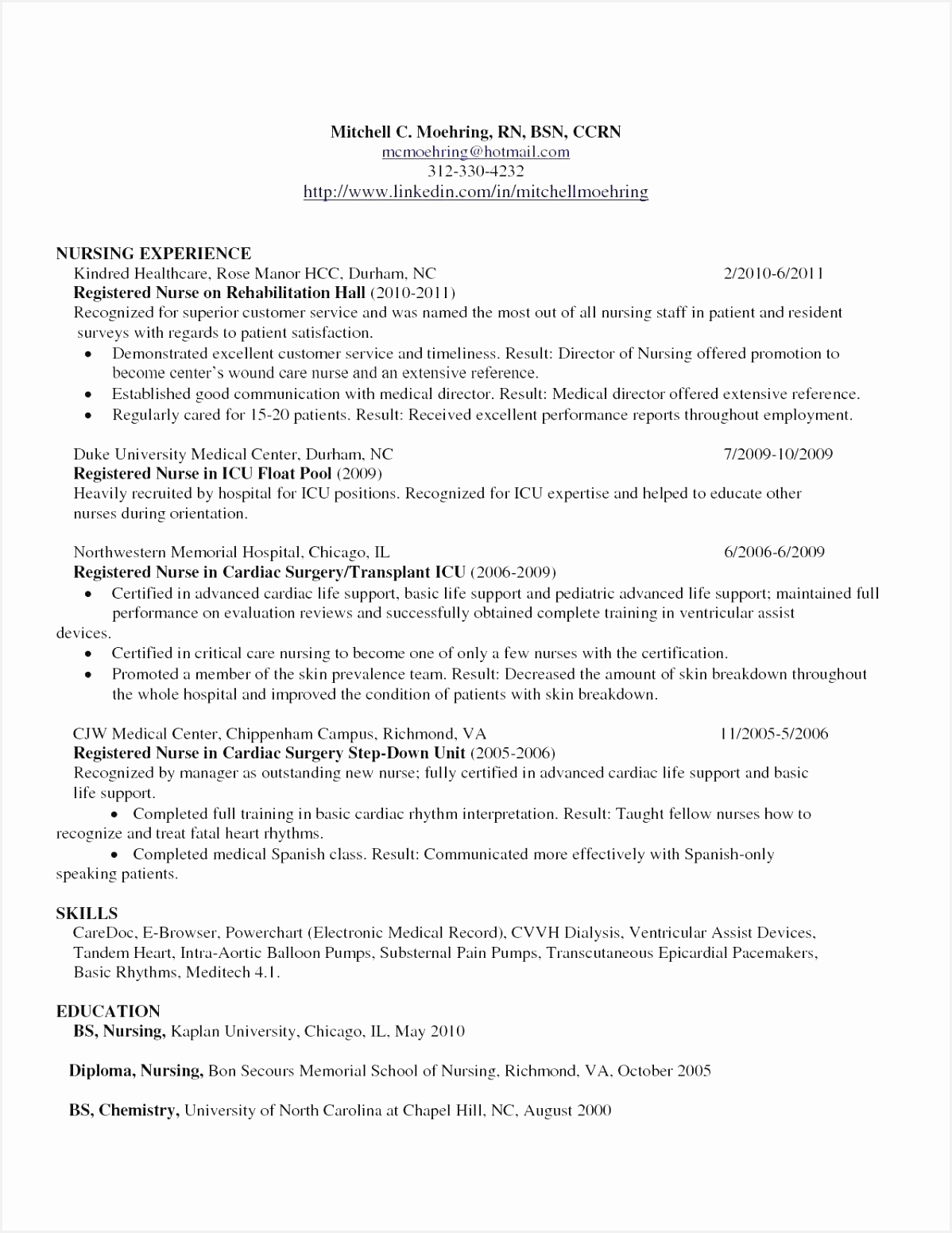 Nurse Graduate Resume Ysfhc Fresh 24 Rn New Graduate Resume15511198