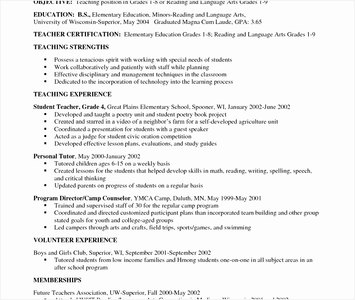 Personal Tutor Sample Resume 3fsux Best Of Resume Samples for Mathematics Teacher Beautiful Stock Math Tutor10151198