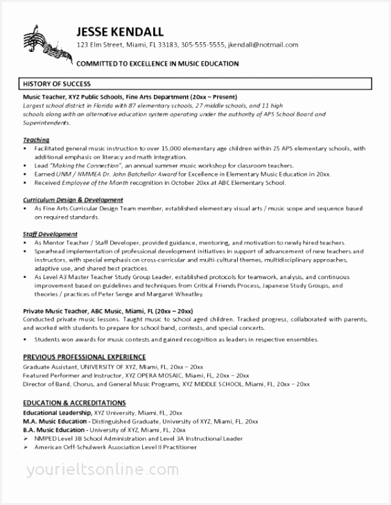 Resume for Teachers Luxury General Resume Sample Elegant Landscaping Resume 0d Resume format 729564shkbg