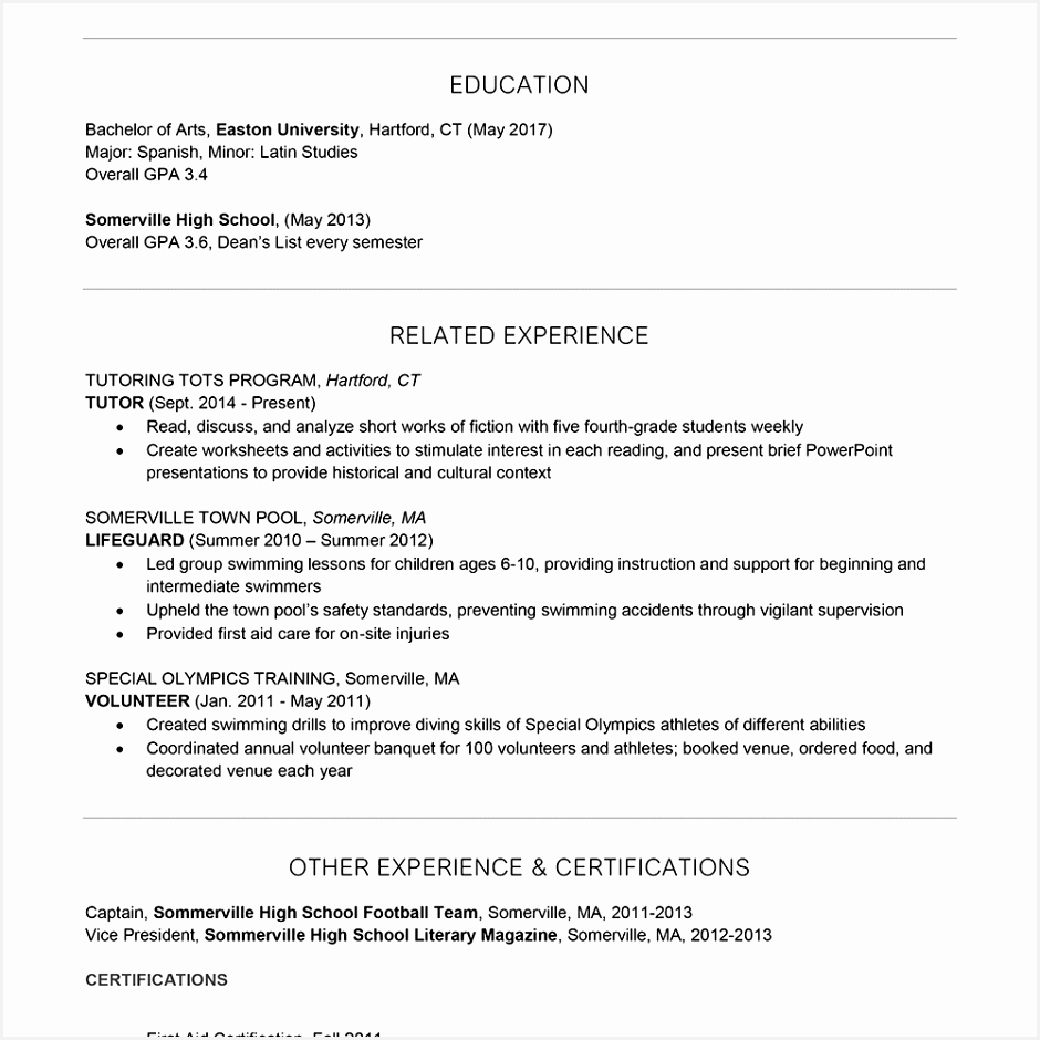 Recreation Programmer Sample Resume Ebkoe Unique Camp Counselor Cover Letter and Resume Examples Of 9 Recreation Programmer Sample Resume