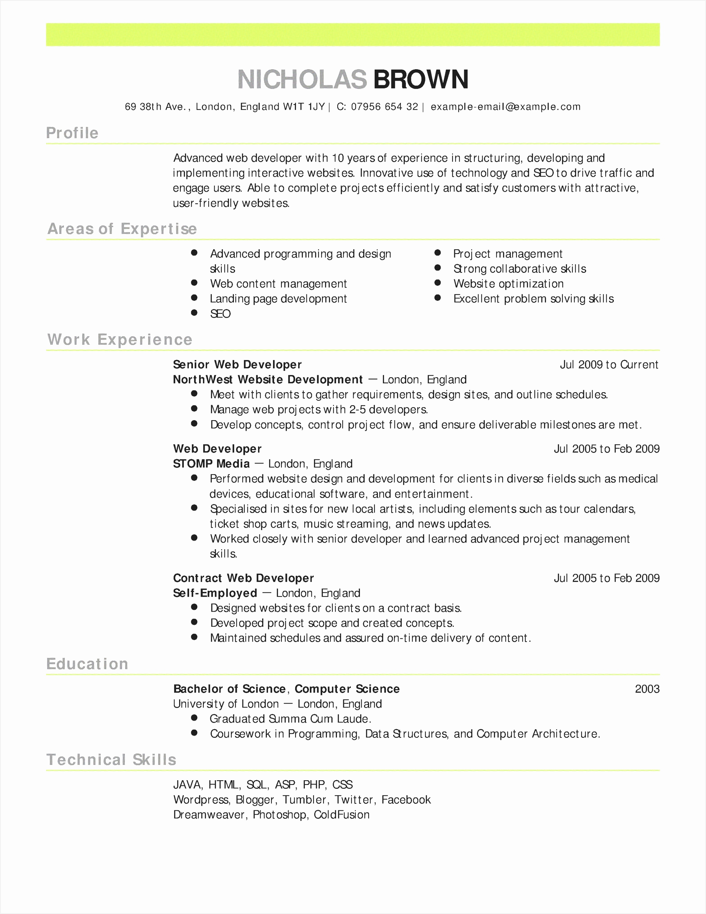 Resume Examples Bartender New Sample Bartender Resume Best What Is Resume Fresh Bsw Resume 0d 31022397nIlms