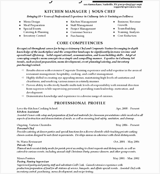 Resume for Sample Hsxnc New Catering Proposal Example Elegant Restaurant Resume Sample Modest564517