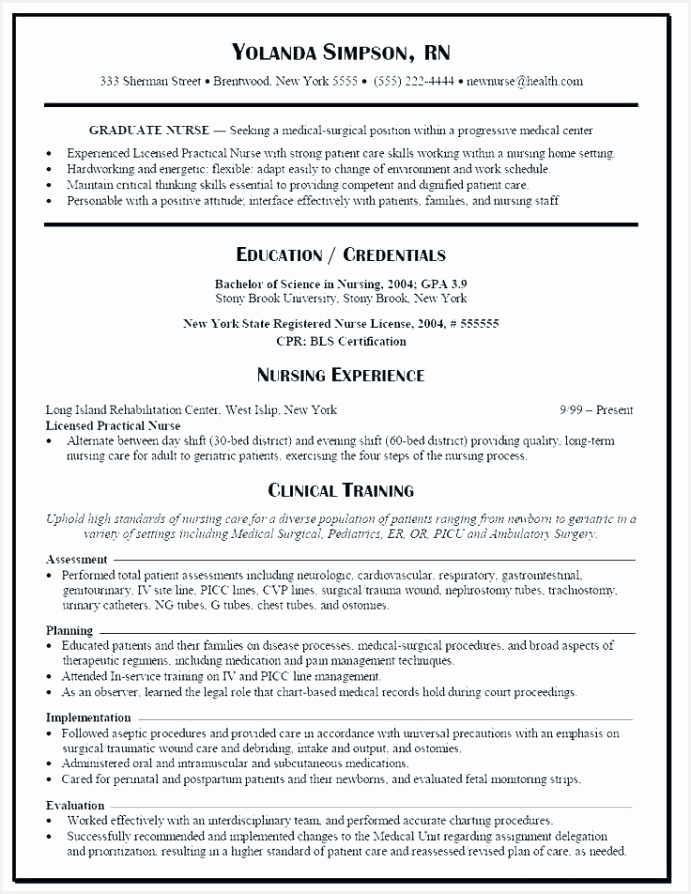 Resume Samples Tips Accei Beautiful Resume Sample for Staff Nurse Popular Rn Resume Sample Unique Of 7 Resume Samples Tips