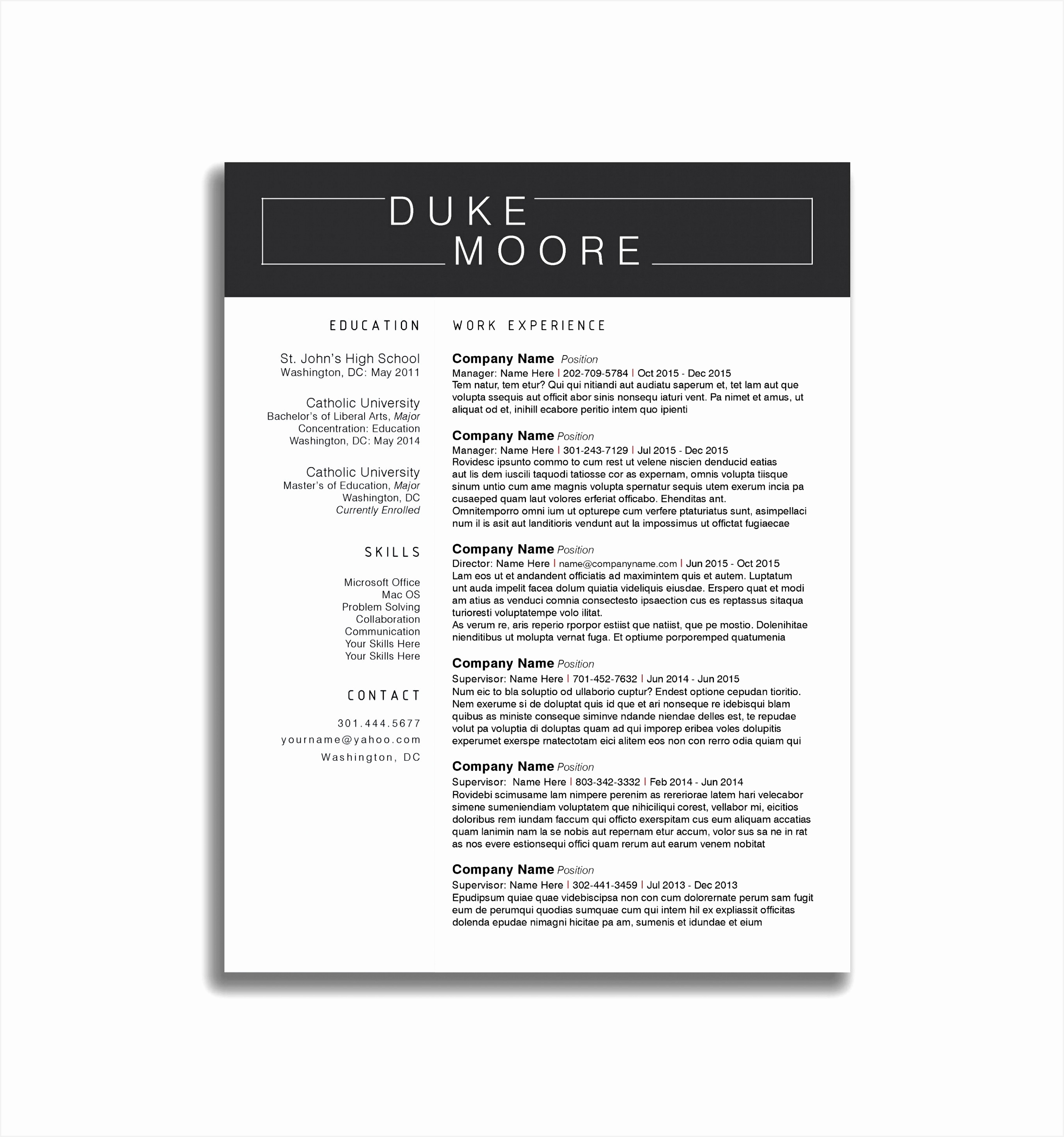 Sample Resume Store Supervisor Valid Retail Supervisor Resume Best District Manager Cover Letter 27352559diRw