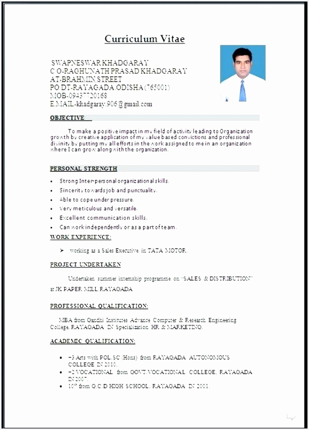 Sales Resume Template Microsoft Word Qgprk Beautiful Resume format Ms Word File New Word Document Resume Template851611