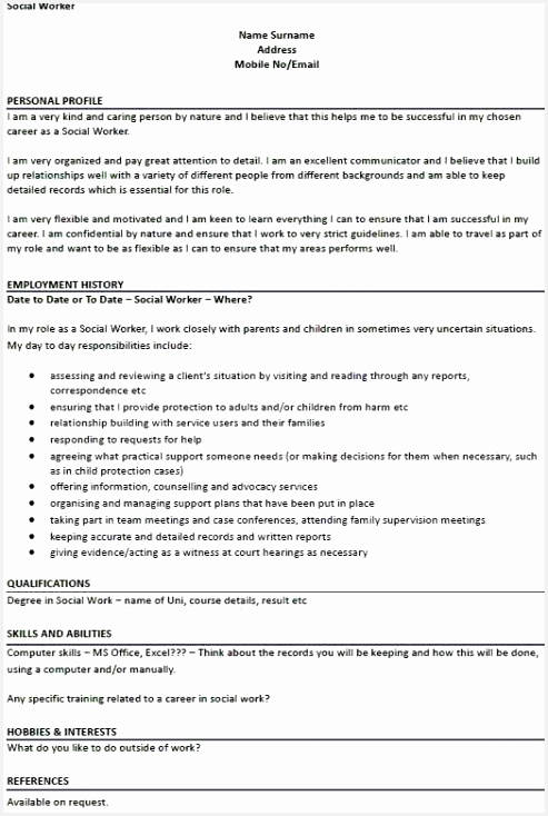 Sample Of Resumes for Jobs Xbedt Best Of Examples Job Resumes Best social Work Resume Examples Of 6 Sample Of Resumes for Jobs