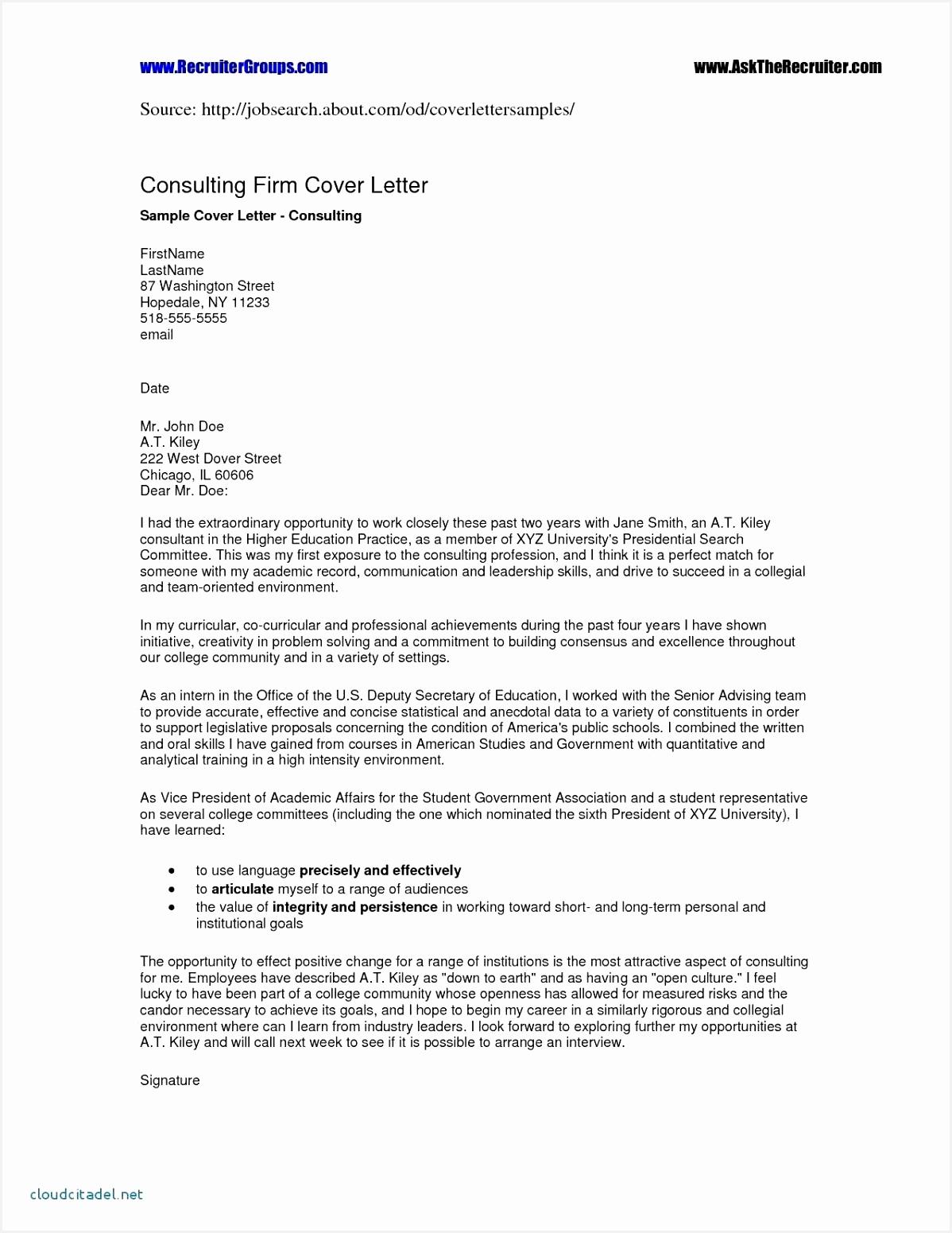 Sample Resume Letter for Job Vodfg Fresh Cover Letter Template Teaching Job New Cover Letter for Teacher Of 7 Sample Resume Letter for Job