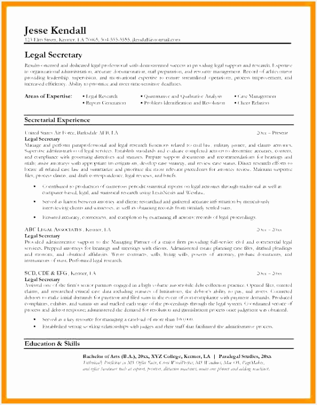 Legal Secretary Resume Samples Inspirational Tips For Resumes Lovely Resumes Tips 0d Bizmancan Secretary Resume 801626fdf4u