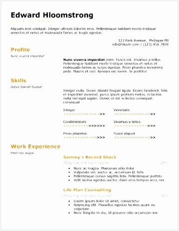 technical special resume stock broker sample 464359tjsjf