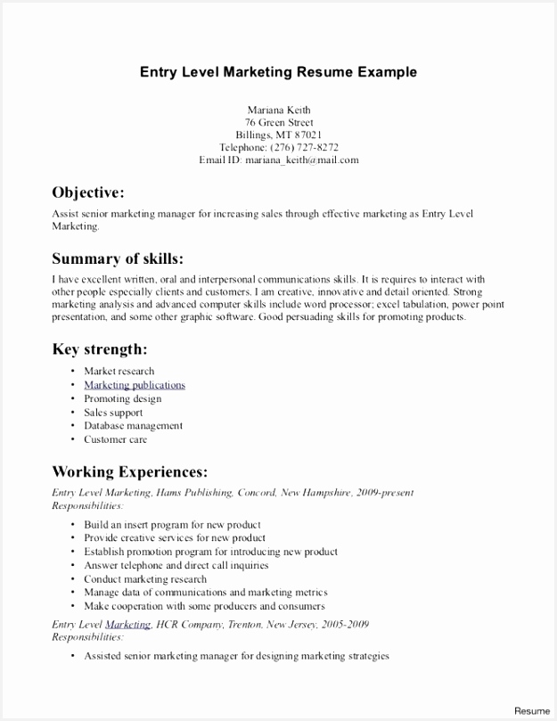 Entry Level Customer Service Resume Beautiful Beginner Resumes from client interaction skills resume image source lordvampyr 809625ehshg