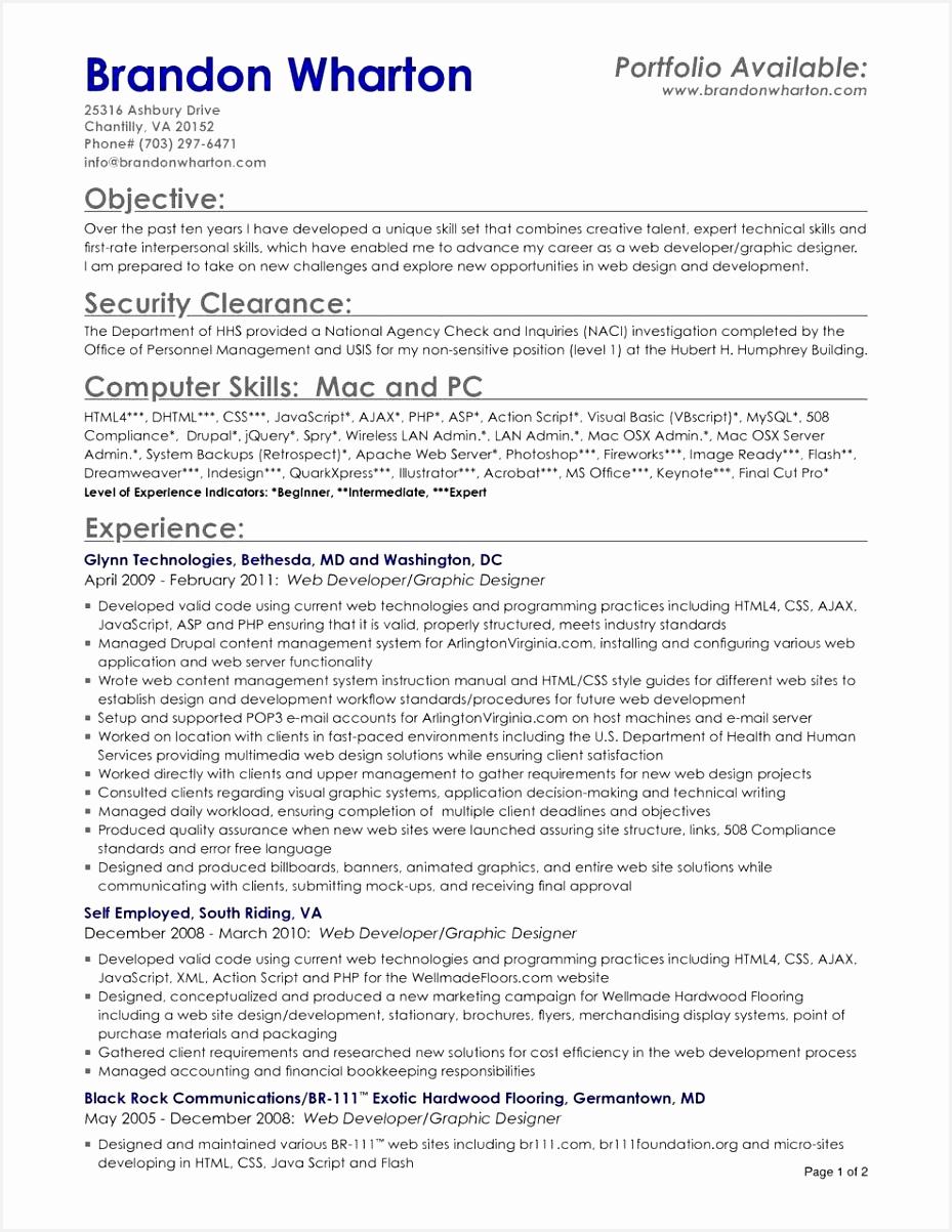Graphic Designer Resume Summary Beautiful How to Write A Resume Summary Awesome Samples Resumes Luxury Fresh 1203929abjsc