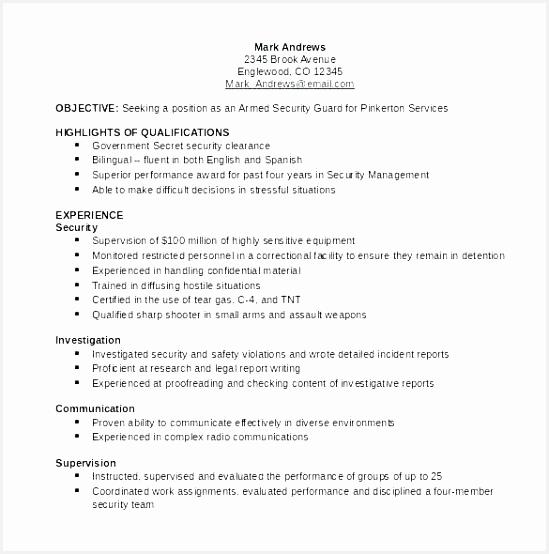 armed security guard card sample security guard resume objective sample security guard resume of armed security guard card 554549hdglk