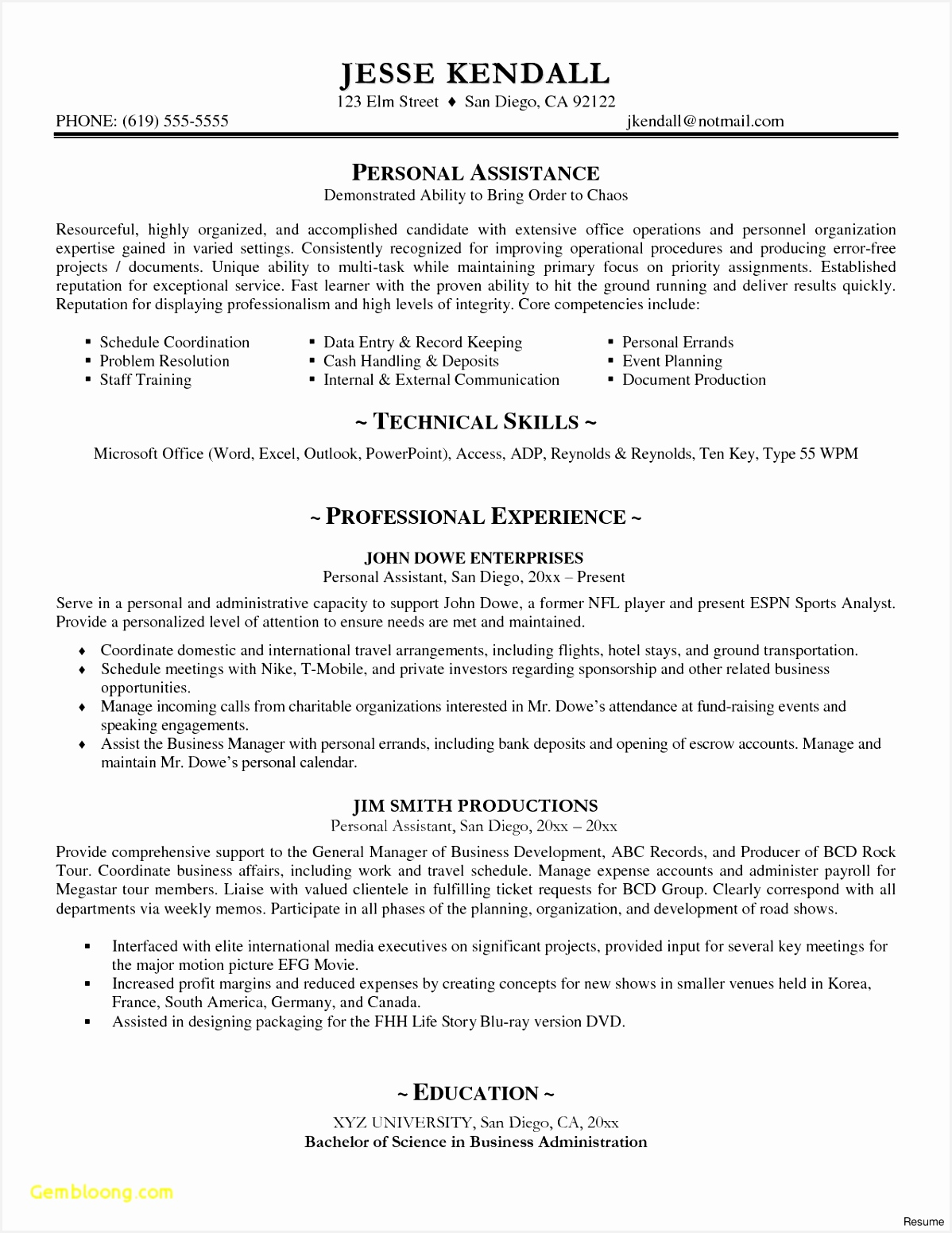 American Resume Examples Sample Resume format Excel Unique Cv Examples Lovely 0d Standard Template 15511198llziy