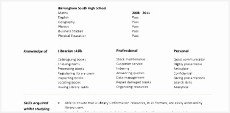 Luxury Library Assistant Resume With No Experience 230470cnuui
