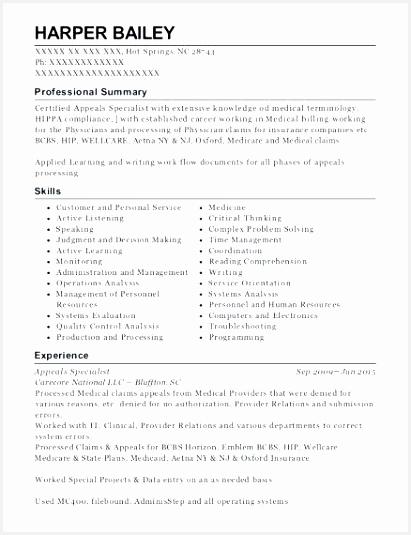 medical billing resume objective beautiful coding sample fresh clerk job description 535411hdaot
