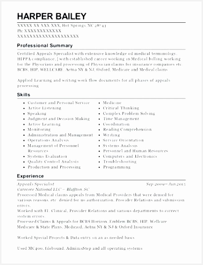 medical billing resume objective beautiful coding sample fresh clerk job description 5354116lgyg