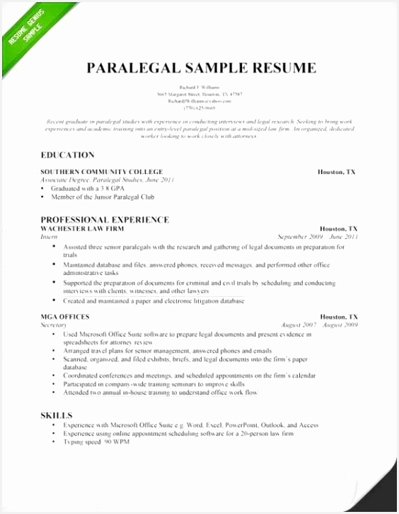 Litigation Paralegal Resume Beautiful Example Resume Objectives Scholarship Resume 0d Professional 7275646ndlz