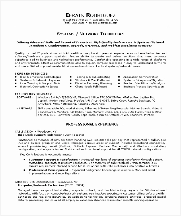 puter technician resume template performance example hardware tech 753631qegjy
