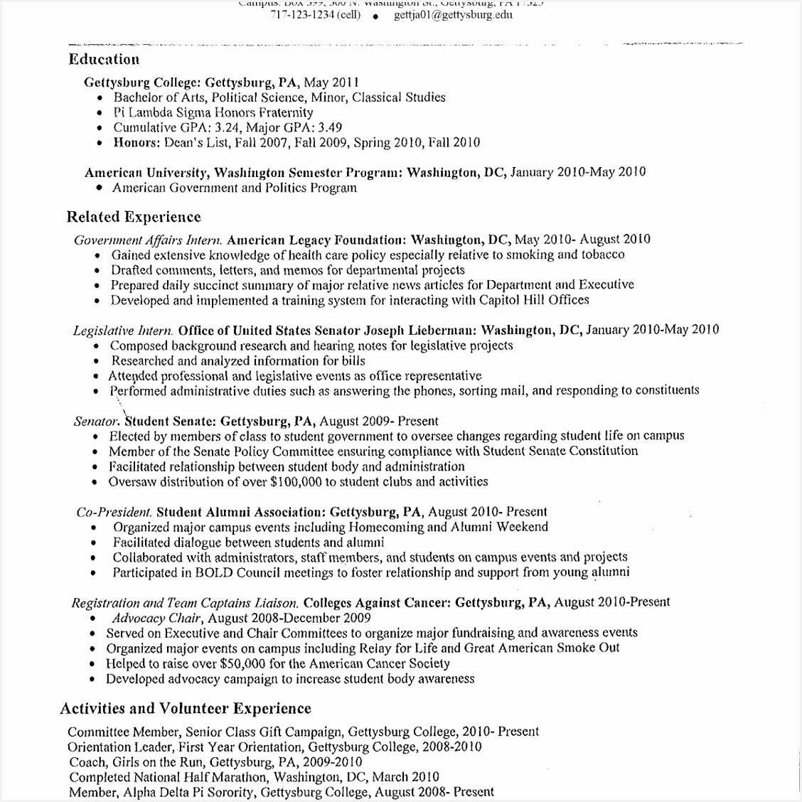 6 Educational Administrator Sample Resume Wsvldk