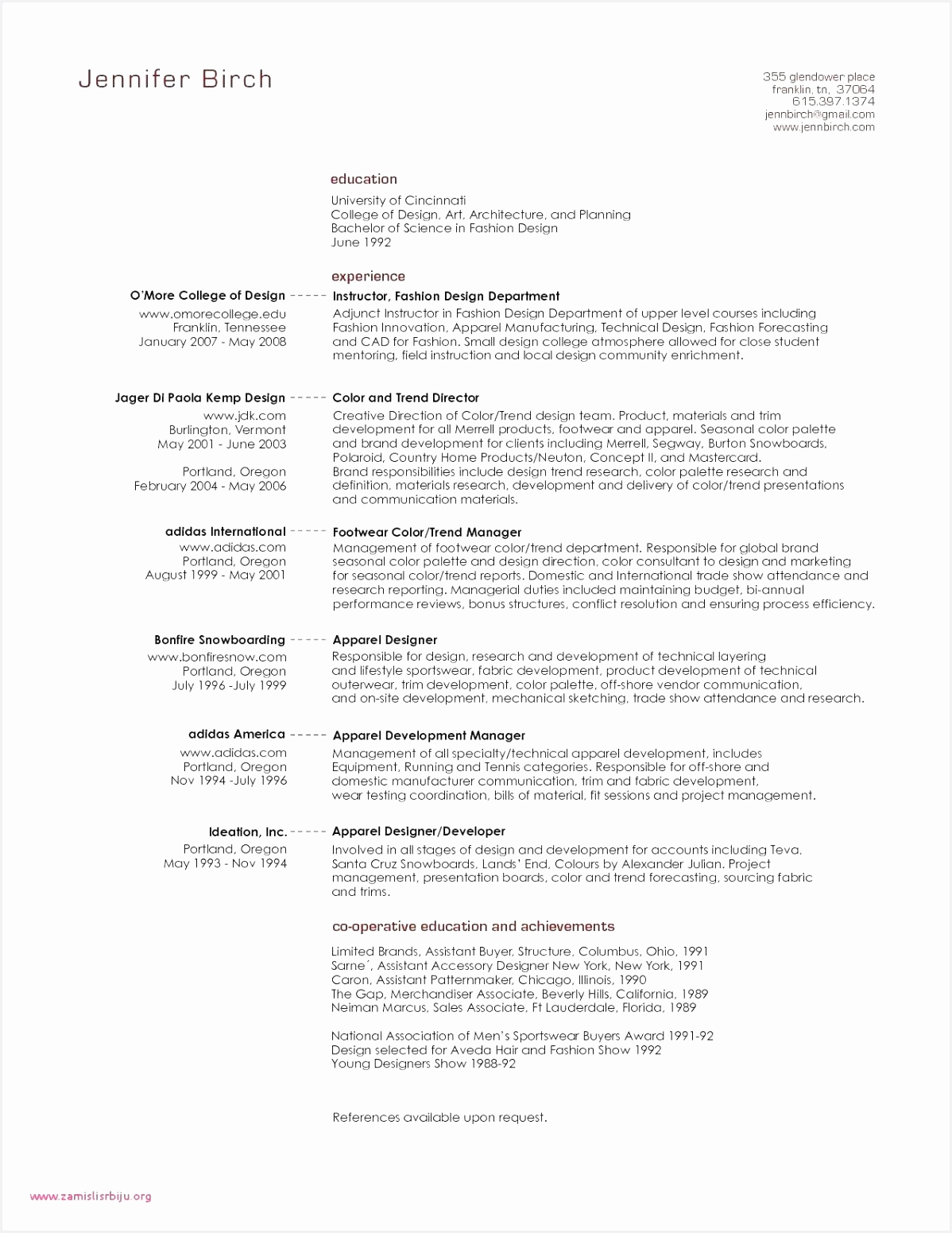 Resume Sample Graduate Student New Sample Nanny Resume Nanny Resume Samples New Nanny Resume 0d 15511198eekzd