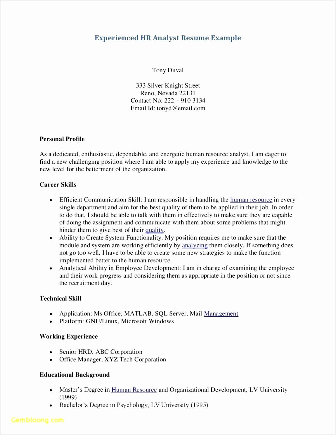 23 Unique Server Resume Template Server Resume Template 14881150csrfw