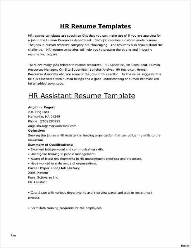 Experienced Resume Template ifvre Elegant Simple Resume Template Best Letter L Template Sample Of 8 Experienced Resume Template