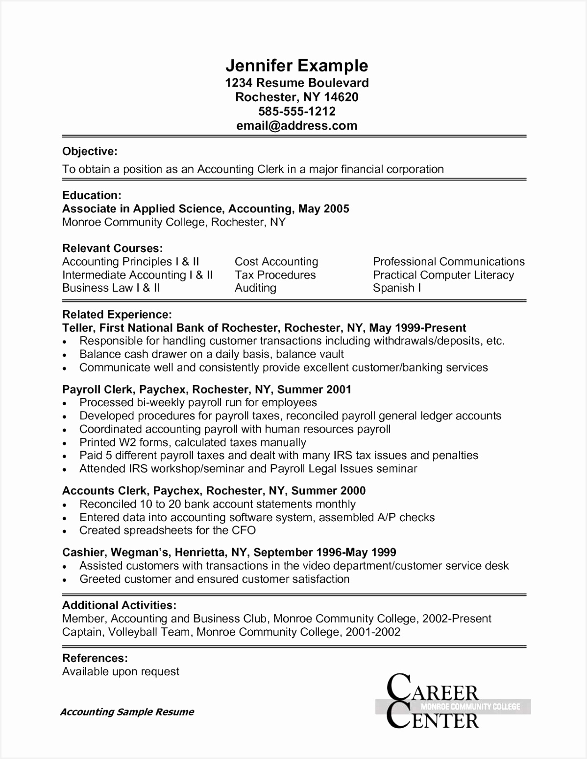 Finance Clerk Sample Resume T3kmo Elegant 36 Example Law Clerk Resumes Samples All About Resume15511198
