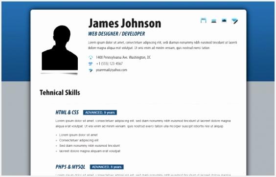 Free HTML Resume Templates Ffdos Unique 97 Free Resume Template with Picture Insert Free Resume Layout362564