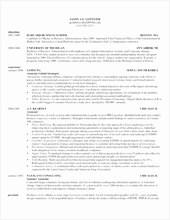 Harvard Business School Resume Sample Ehfty Best Of Harvard Business Case Template – Bigdatahero752580