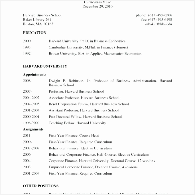 6 Harvard Business School Resume Sample Kmbebv Free