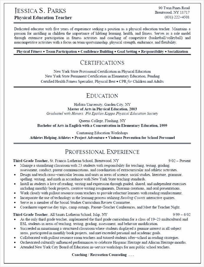 Health Education Specialist Sample Resume Edoef Luxury Luxury Health Educator Resume Sample904691