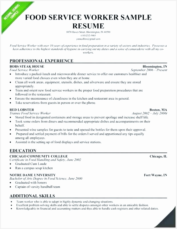 Kitchen assistant Sample Resume Bghlg Fresh Food Service assistant Resume – Newskeyfo Of 7 Kitchen assistant Sample Resume
