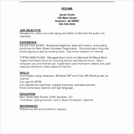 Cover Letter Template Receptionist Awesome Resume with Cover Letter Awesome Resume Examples 0d Good Looking 4704703fkfi
