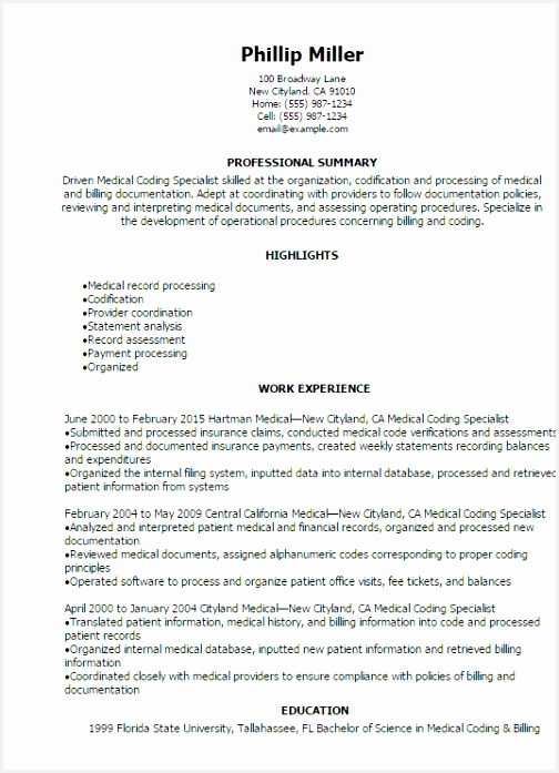 medical billing and coding resume medical coding specialist resume 6975044tjc