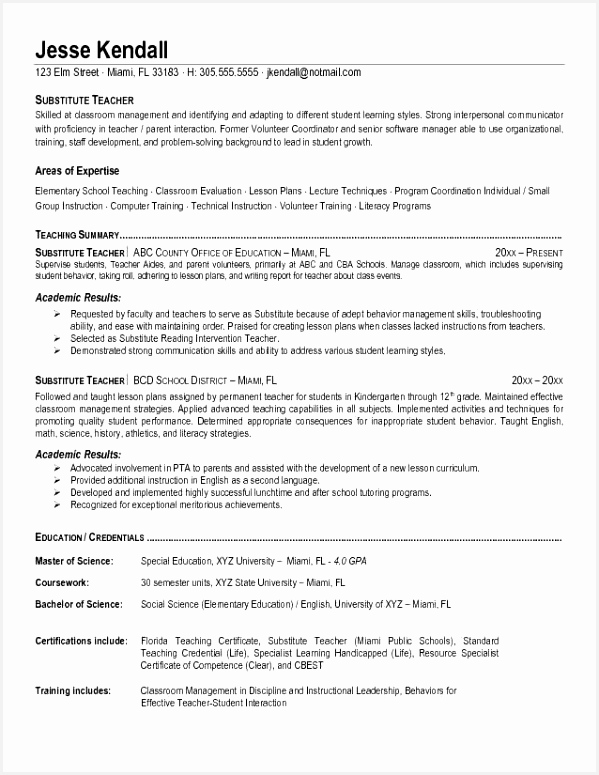 Montessori Teacher Resume Sample W8hyh Lovely Nice Good Teacher Resume Examples Gallery Great Teacher775599