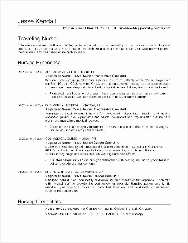medical surgical nurse resume fresh new grad objective examples sample nursing radiation of experienced 775599zdqje