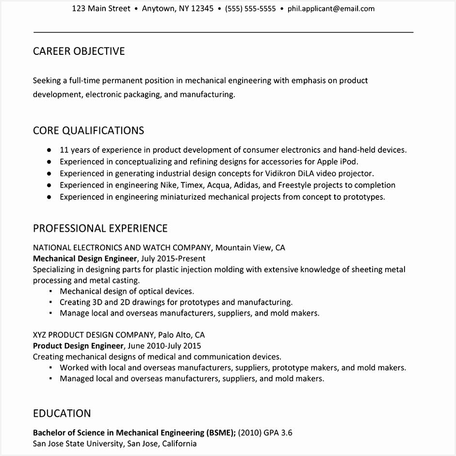 Packaging Sales Sample Resume Ftsch Elegant Sample Resume for A Mechanical Engineer Of 9 Packaging Sales Sample Resume