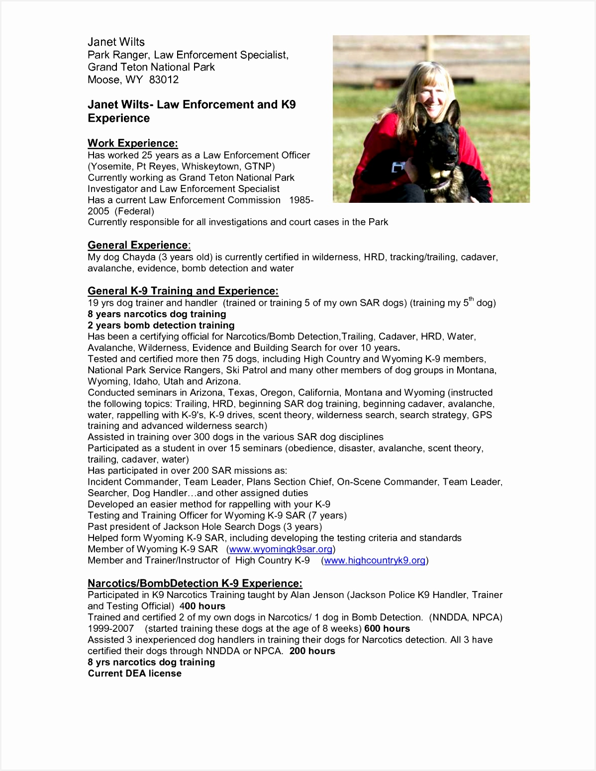 Park Ranger Resume Efred Inspirational Park Ranger Resume Suzen Rabionetassociats Of Park Ranger Resume Y7spd Best Of Sample Job Posting Template