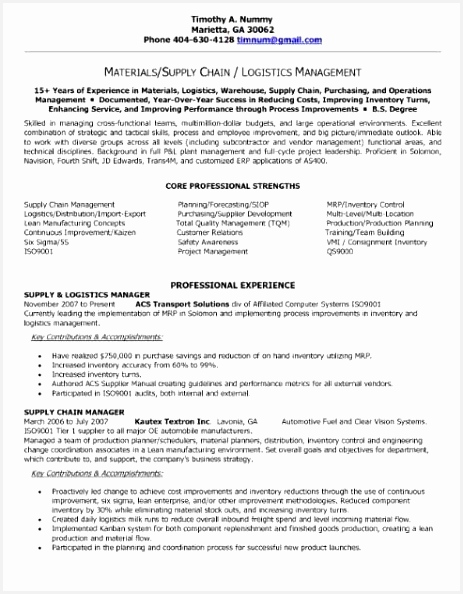 Professional It Resume format Zuegq Inspirational Resume Examples for Finance Professionals Cool S Logistics594463