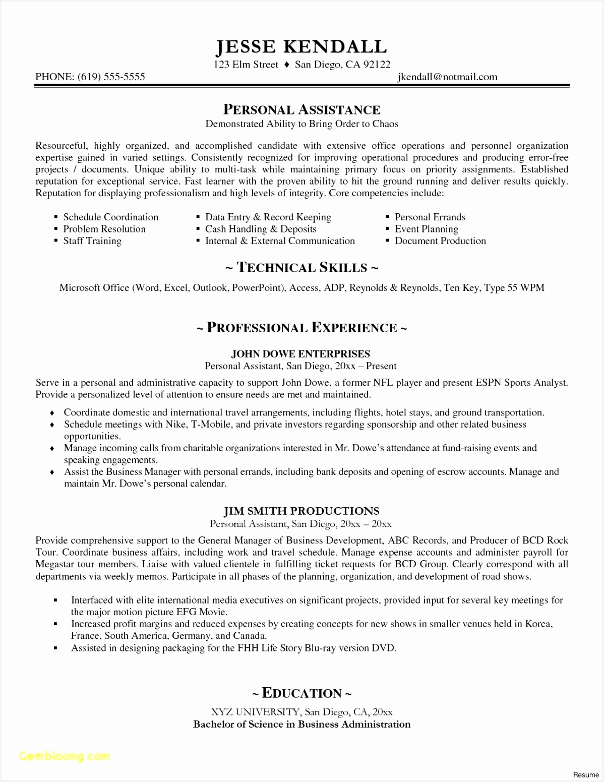 Records Management Resume 3ohdh Awesome Free 59 Personal Statement Template Free Download Of 7 Records Management Resume