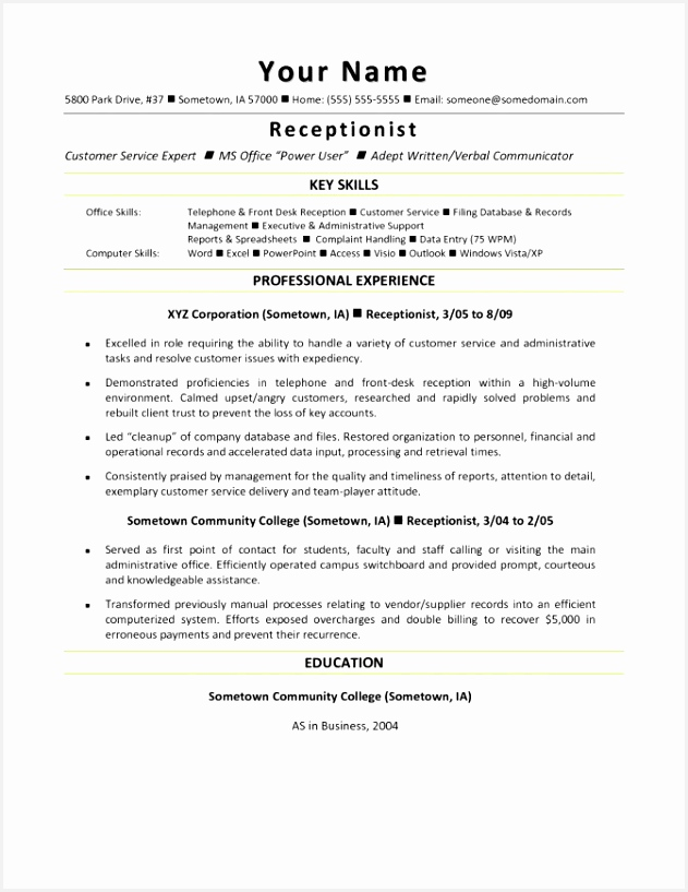 Hotel Front Desk Resume Sample Best Cover Letter and Resume Template Od Specialist Templates for Medical 817631vxlkp