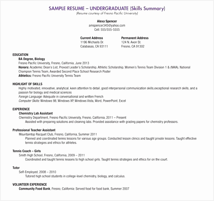 Resume Examples for High School Students Applying to College Hvqnb Fresh High School Student Resume Examples Sample Current College Student707752