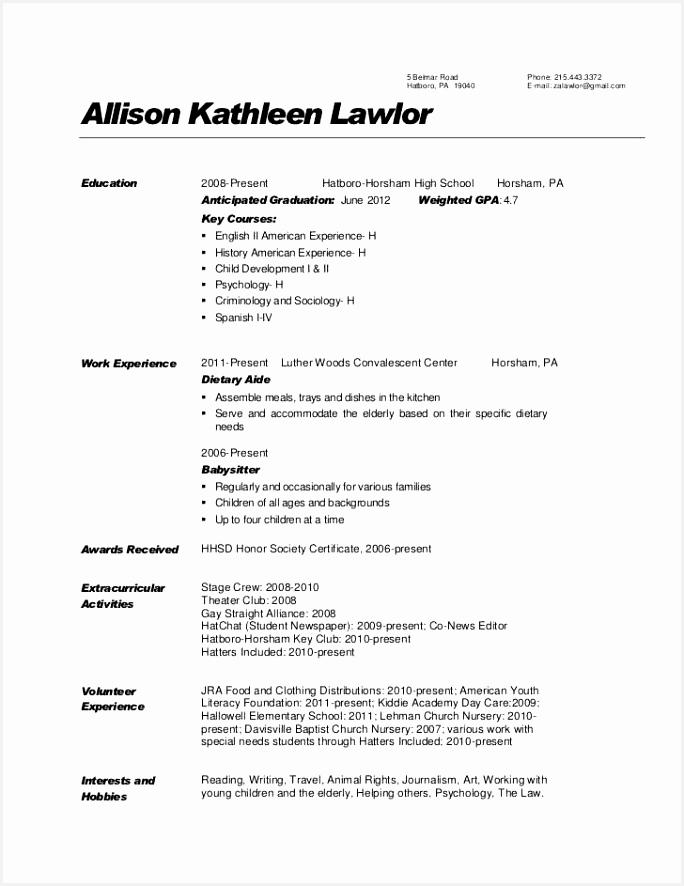 Babysitting Resume Examples Sample Cv Baby Sitter Babysitting Resume Examples Babysitter Resume 0d 8866845zZib