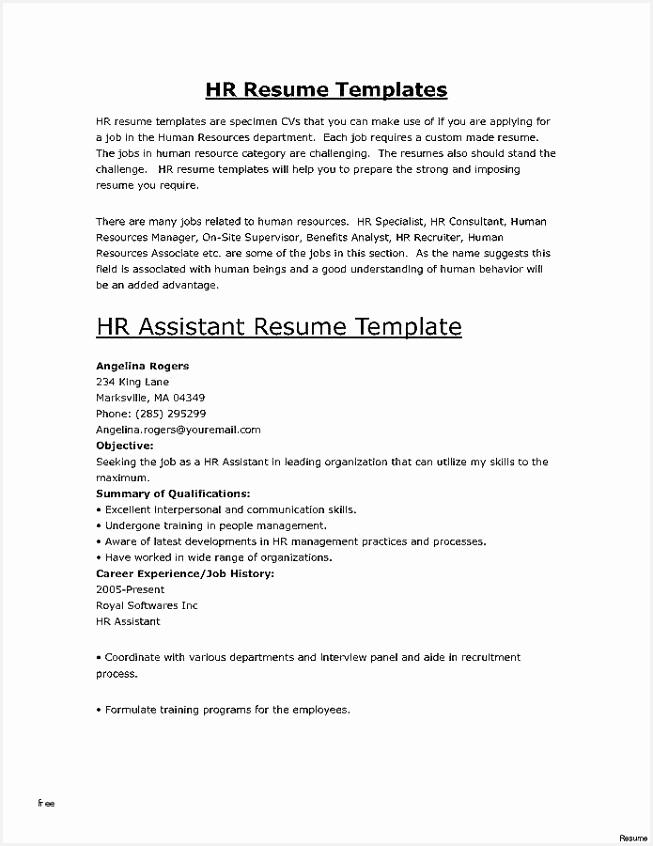 Resume for Secretary Position Cvjfd Lovely Cover Letter for Hr assistant Professional Professional Summary Of 7 Resume for Secretary Position