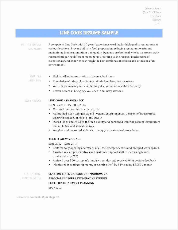 Resume Performa Bcz3c Luxury 96 Resume for Prep Cook Prep Cook Resume Sample Food Line Of Resume Performa Ydagd Best Of Resume Sample for High School Student Archives Wattweiler org New