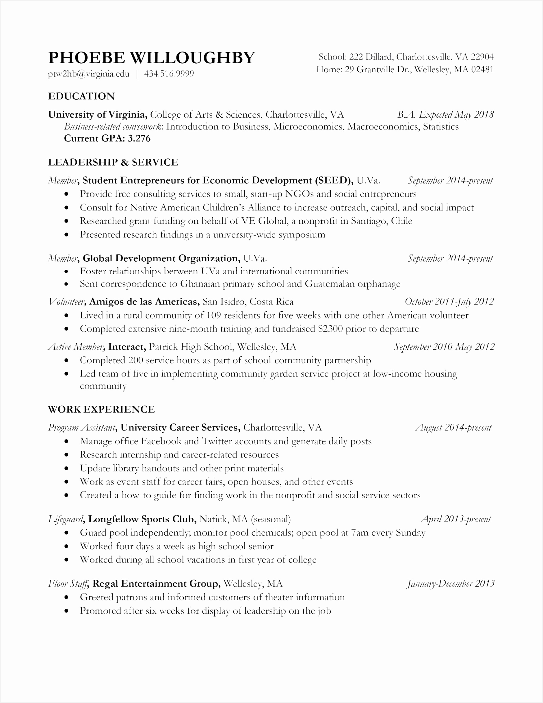 Resume Samples for University Students Bwciz Elegant 25 Free College Resume Examples for Highschool Seniors Of 7 Resume Samples for University Students