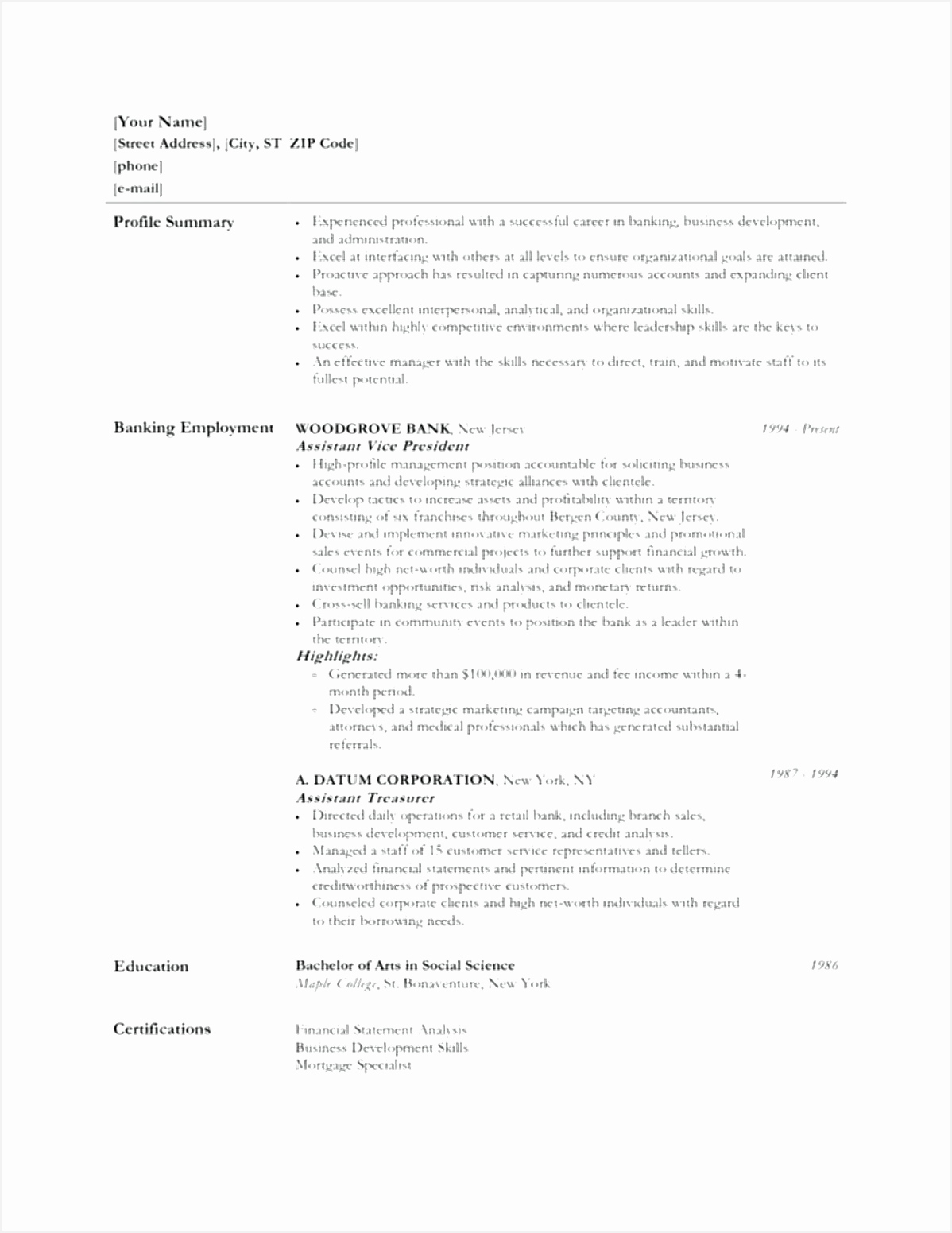 Customer Profile Template Excel Best Resume with Objective Skills Summary for Resume Examples Awesome 0d 15511198xrBft