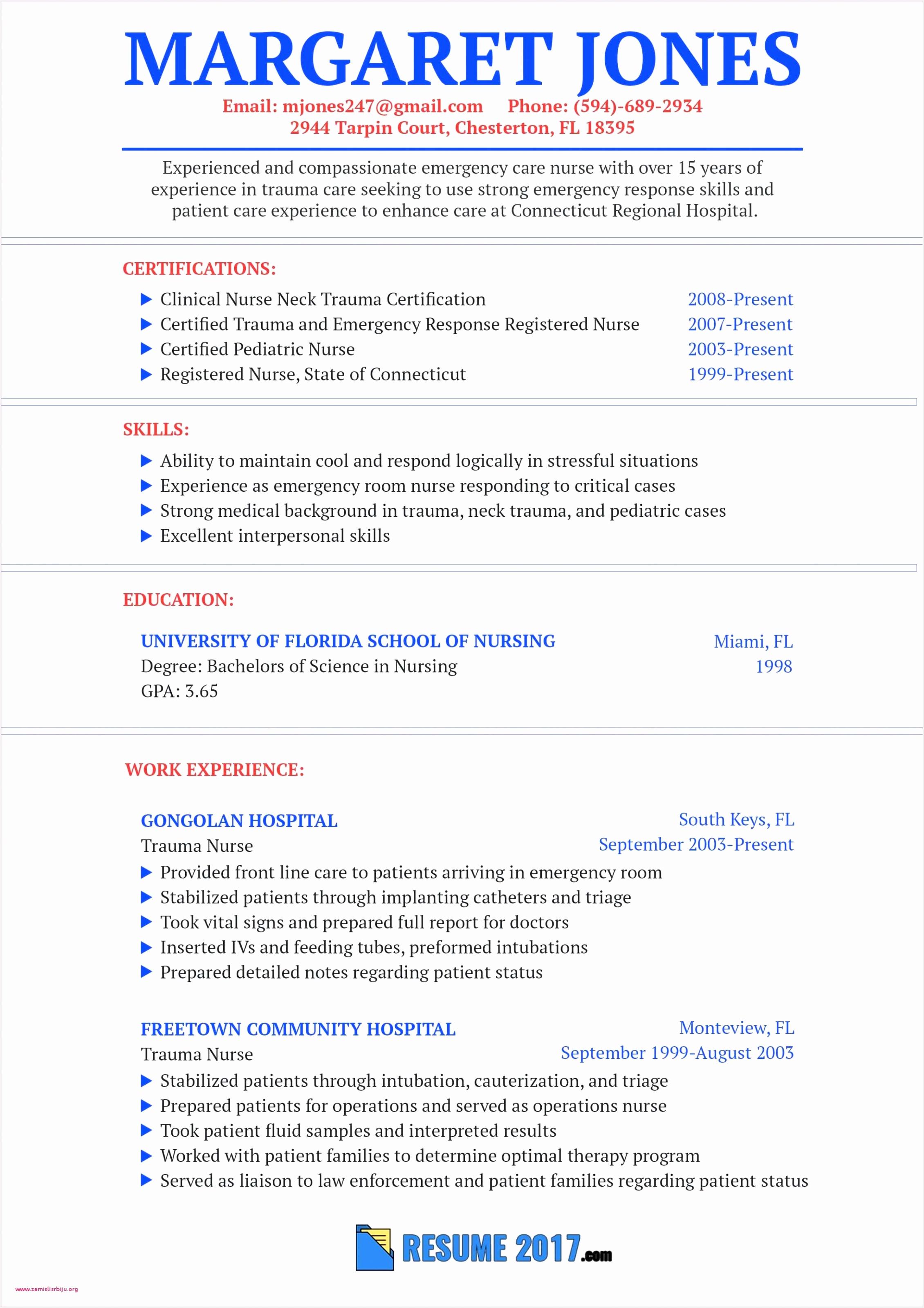 Sample Resumes Registered Nurses Free Nurse Resume Sample Fresh Rn Bsn Resume Awesome Nurse Resume 0d 31972260pjjtd