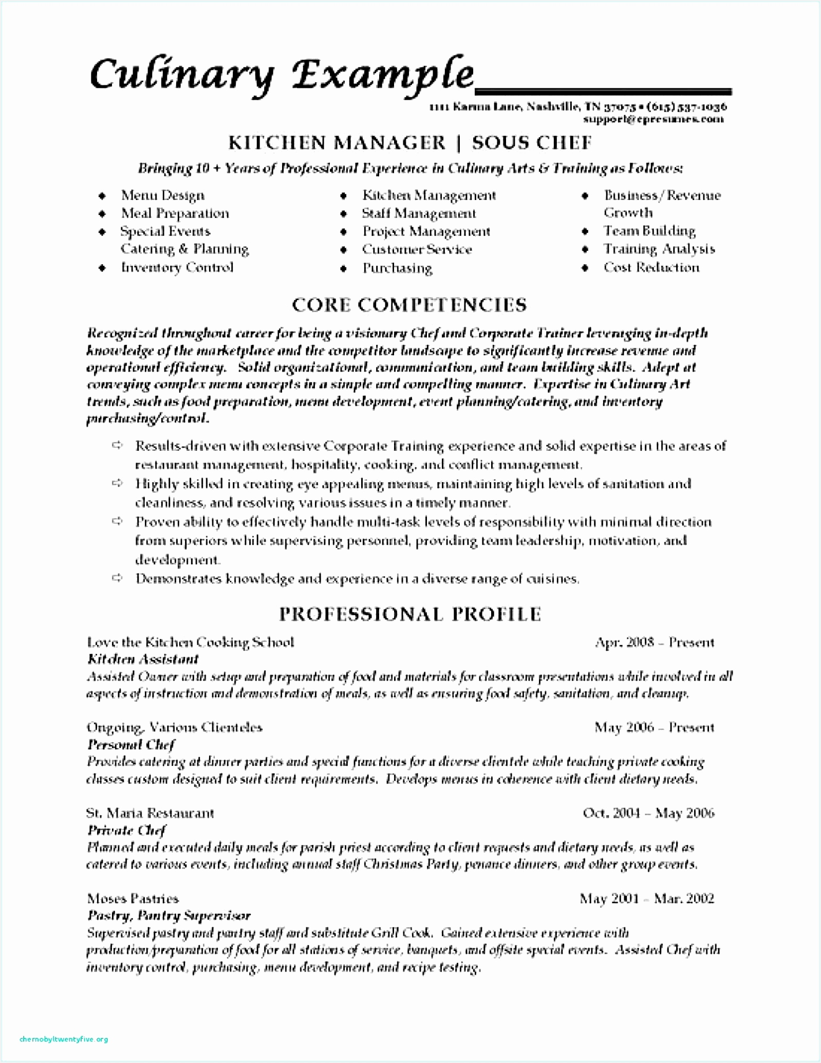 7 sample resume for pastry chef gdqwte