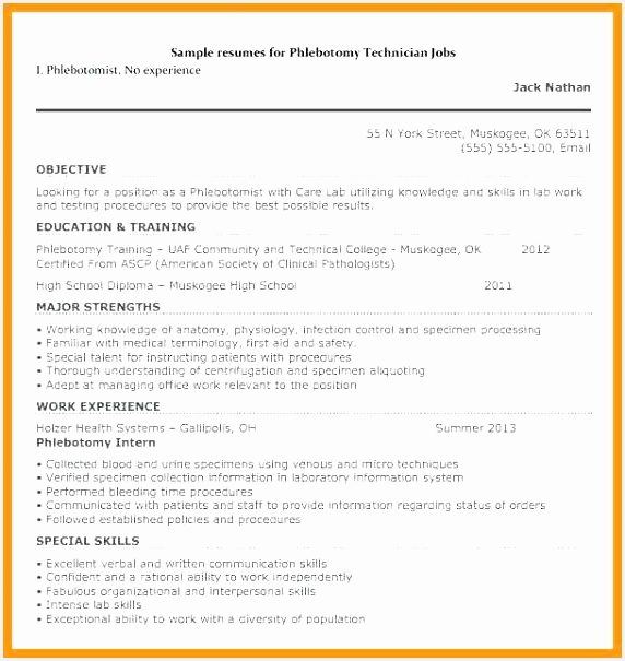 Sample Resume for Phlebotomist Cvqyc New 94 Phlebotomist Resume Templates Free Phlebotomy Resume Examples Of Sample Resume for Phlebotomist Ytjlr Elegant Sample Resume Letter Pdf Valid Fax Cover Letter Pdf format
